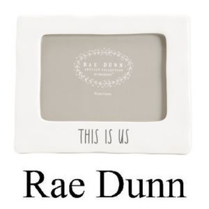 Rae Dunn 'THIS IS US' Picture Frame